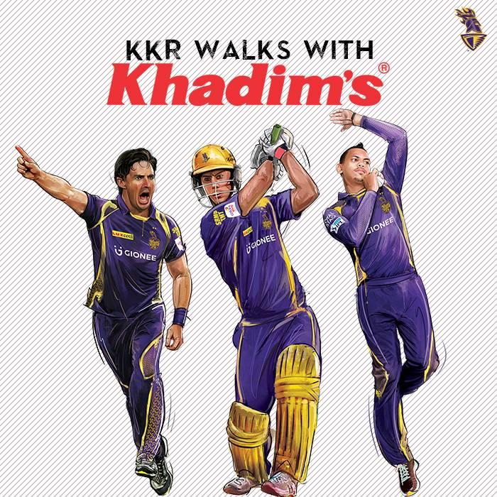 Kolkatta Knight Riders Official Sponsor Partner List 2018 Brands Endorsements Khadim