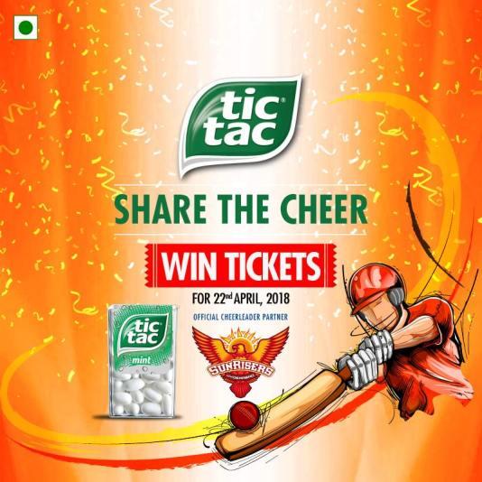 Sunrisers Hyderabad SRH Sponsors Logos Jerseys Brand Endorsements Partners Sponsorship Tic Tac