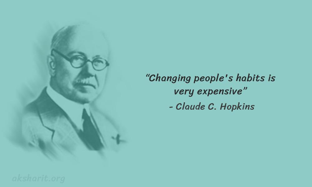 18 Claude C. Hopkins Quotes Advertising Legend Guru