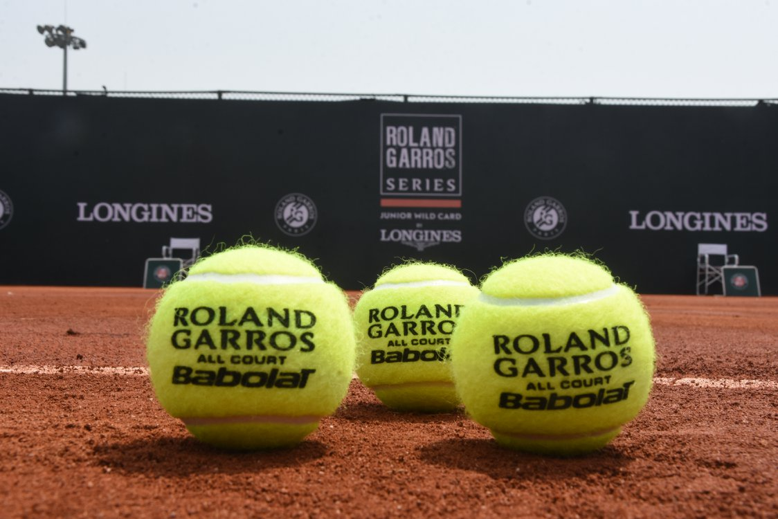 French Open Rolang Garros RG Partners Sponsors Brand Associations Logos On Field Advertising Marketing Babolat