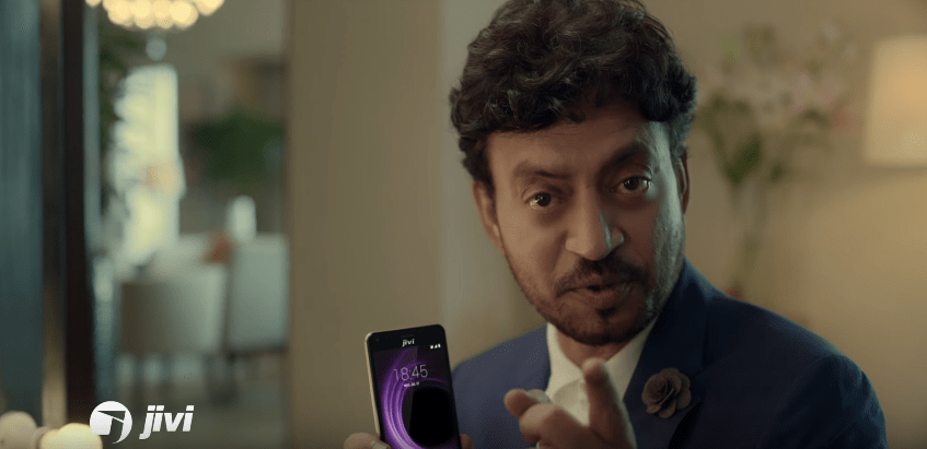 Irrfan Khan Brand Endorsements Brand Ambassadors TVCs advertisements promotion Jivi Mobiles