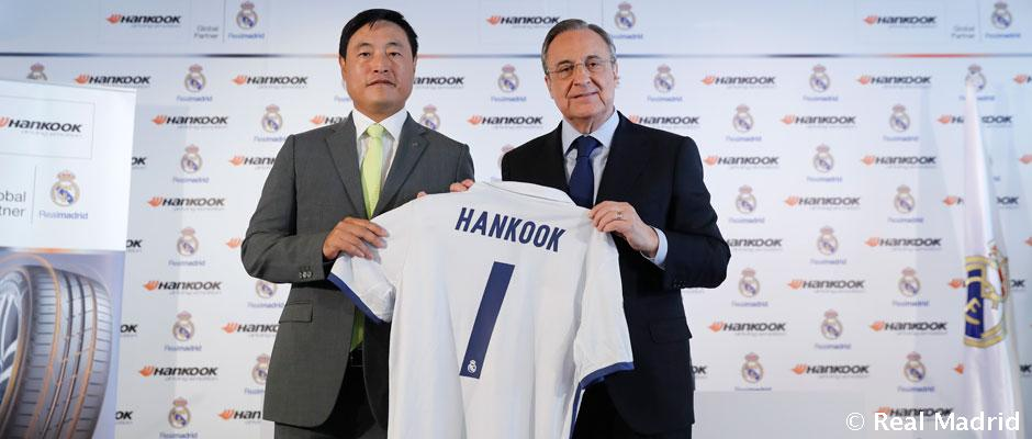 Real Madrid CF Offical Sponsorships Partners Brand Tie Ups Advertising Marketing Hankook