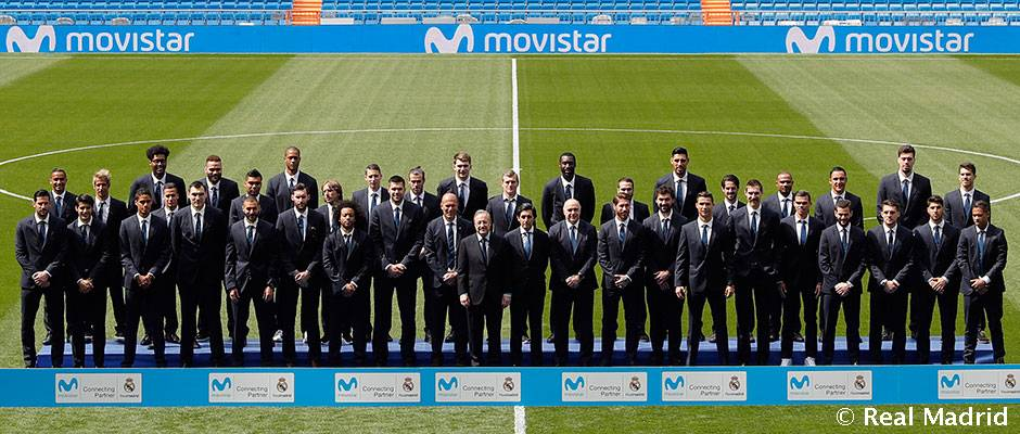 Real Madrid CF Offical Sponsorships Partners Brand Tie Ups Advertising Marketing Movistar