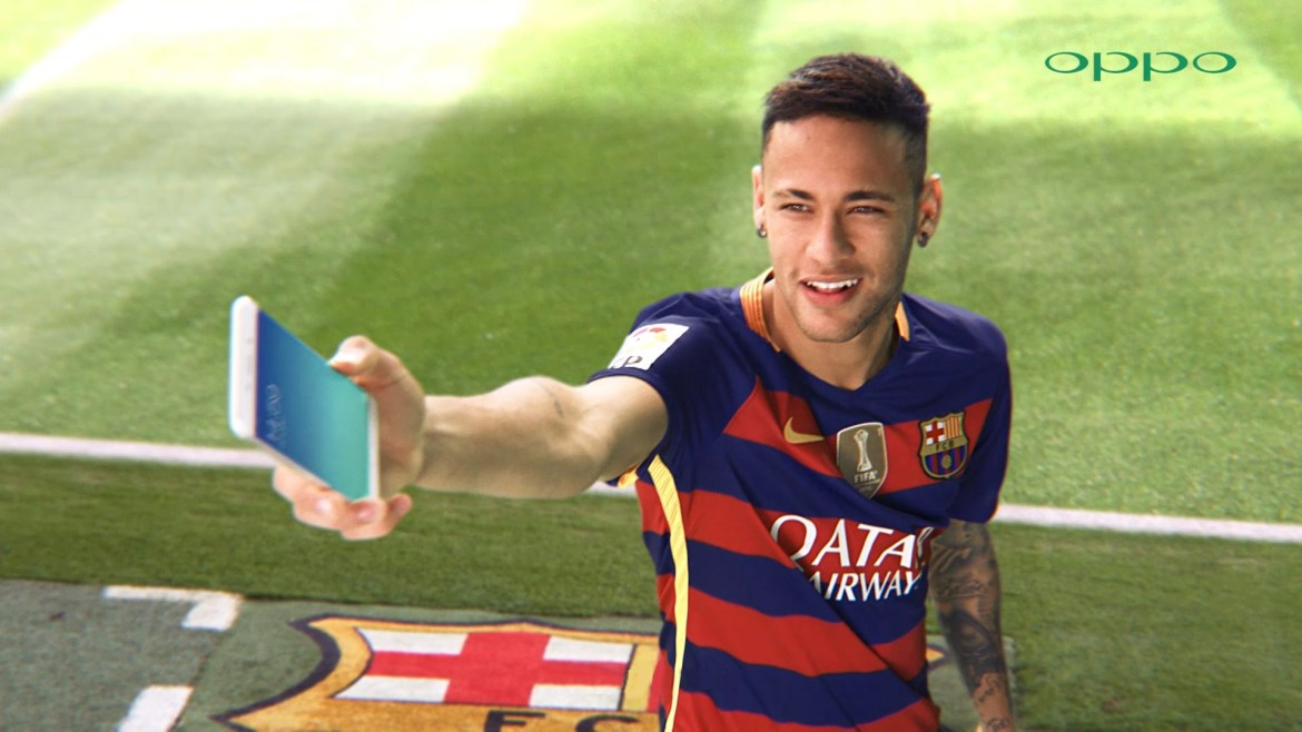 Neymar Jr. Brand Endorsement Deals Promotions Ambassador TVC Advertising Sponsorship Partnership Oppo