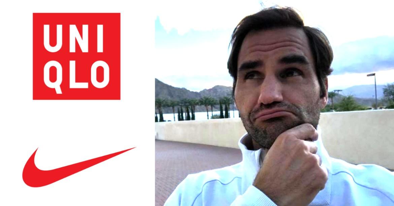 Roger Federer Uniqlo Nike