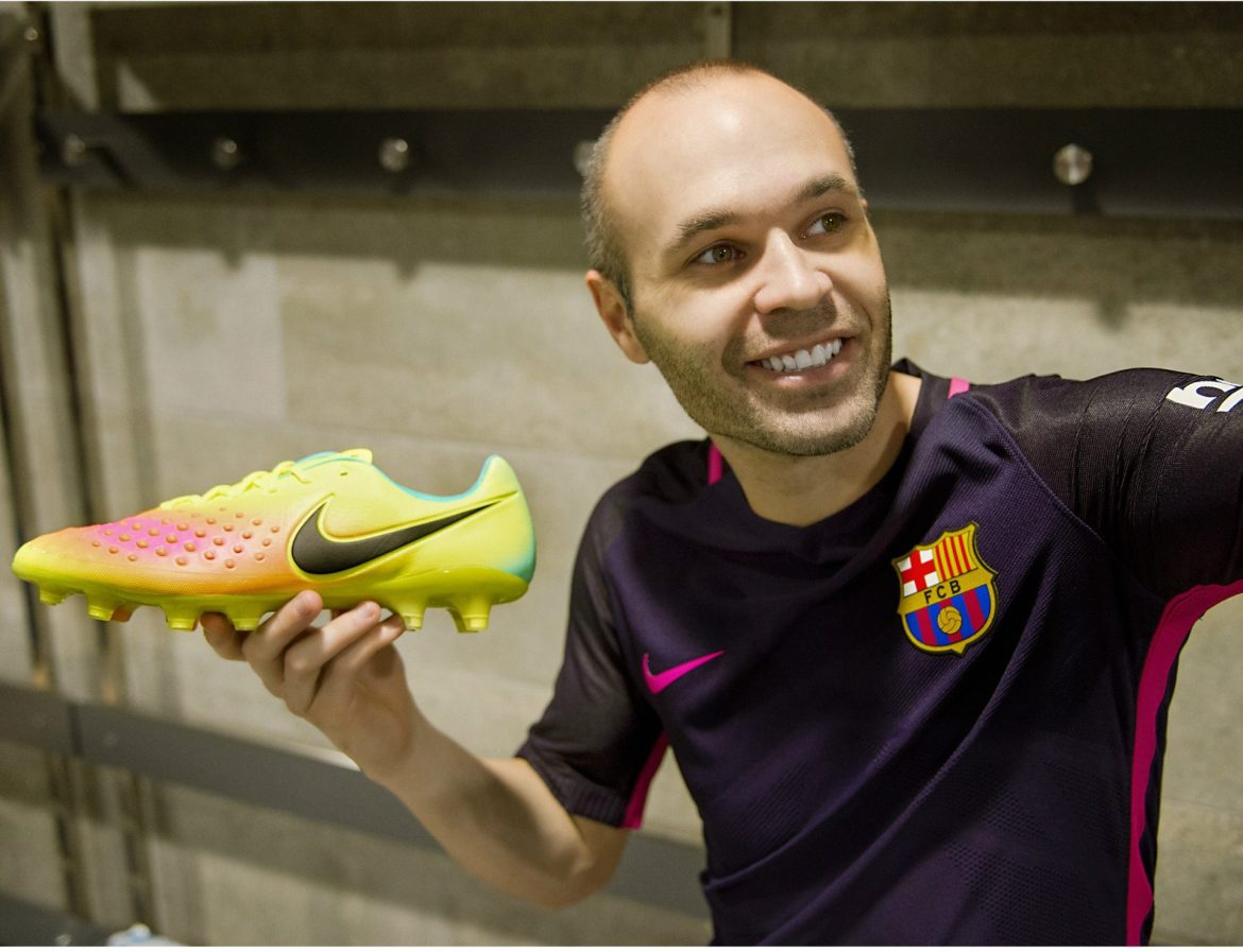 Andres Iniesta Brand Endorsements Brand Ambassador Sponsorship Partners Advertising TVC Spain Barcelona Nike