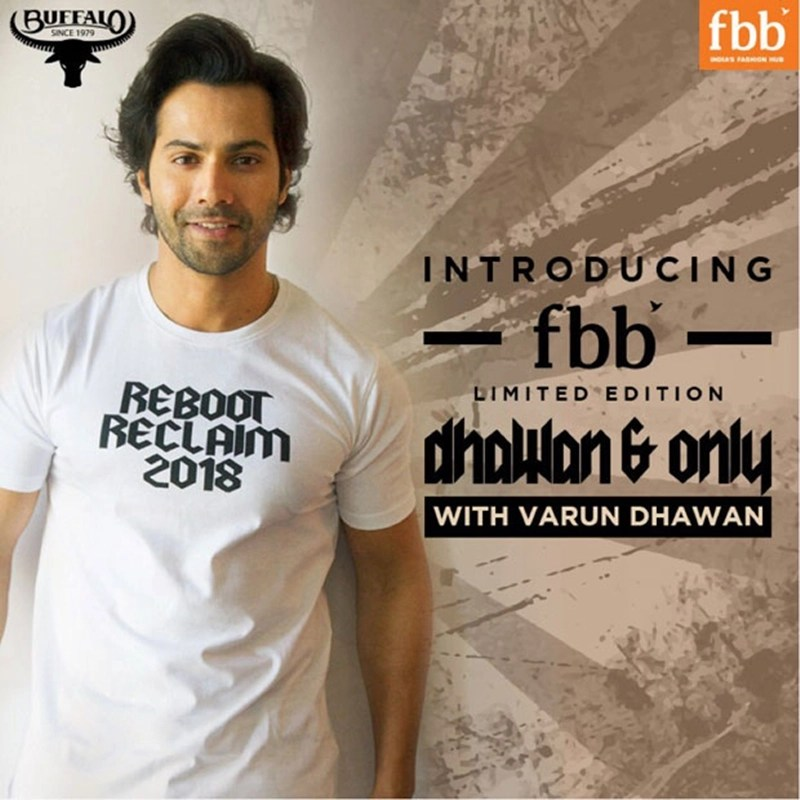 Varun Dhawan Brand Endorsements Ambassador Advertising Marketing Campaign TVC Advertisement Dhawan & Only varun dhawan