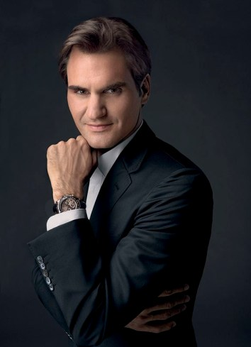 Wrist Watch Brands Endorsed Promoted advertised by tennis stars players Rolex Roger Federer