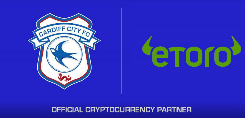 Cardiff City Partners Sponsors Brands Logo Stands Advertising eToro