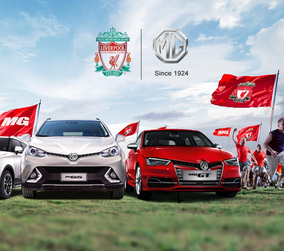 Liverpool Sponsors Partners brand associations advertisements logos ads MG