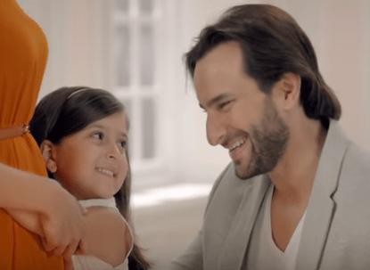Saif Ali Khan Advertisements Brand Ambassador Endorsements TVCs ads Santoor