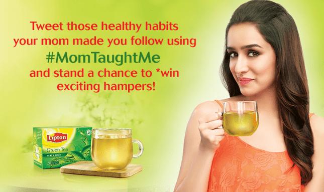 Shraddha Kapoor Brand Ambassador Brand Endorsements Promotions Advertisements TVCs Sponsors List Lipton Green Tea