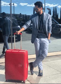 Ayushmann Khurrana brand endorsements brand ambassador list ads tvcs advertisements advertising actor model American Tourister luggage bags
