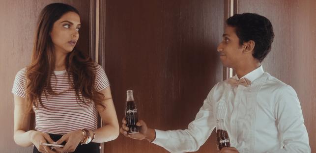 Deepika Padukone Brand Ambassador Endorsements Advertisements TVCs Marketing Ad films Coca-Cola