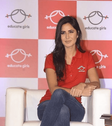 Katrina Kaif Brand Ambassador Brand Endorsements List Promotions TVC Advertisements Educate Girls