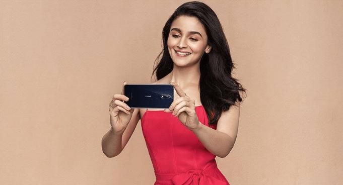 Alia Bhatt Nokia Smartphones Advertisement Brand Ambassador Main Face of Advertising