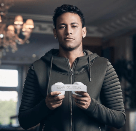 Neymar Junior Jr Brand Ambassador Partners Endorsements Lists Advertising associations sponsorships social media promotions TVC advertisements sponsors Beats By Dre speakers and headphones