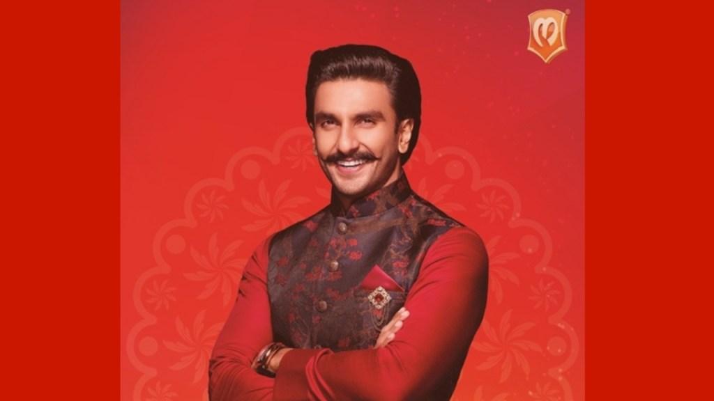 Ranveer Singh Brand Ambassador Manyavar endorsement list advertising commercials TVCs ads marketing