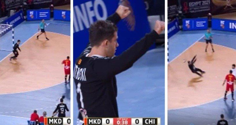 Супер Митриевски: Трите одбрани за – една минута!🎥