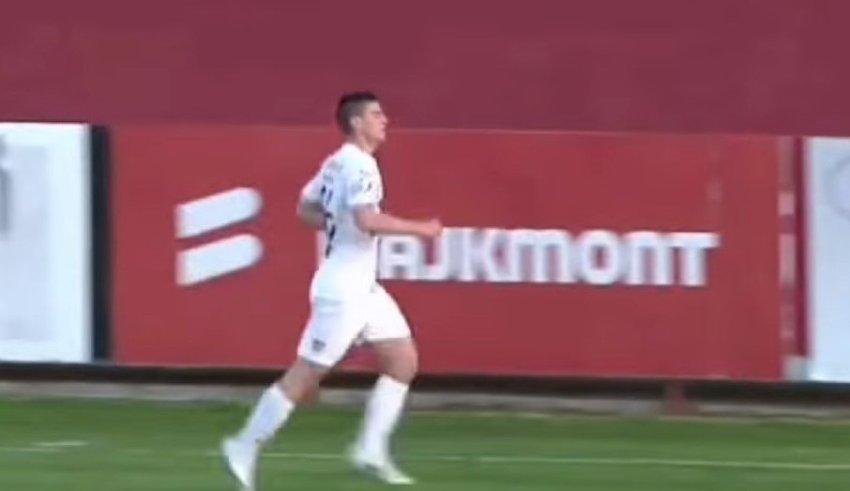 Поранешниот талент на Вардар доби шанса и блесна со два гола! 🎥