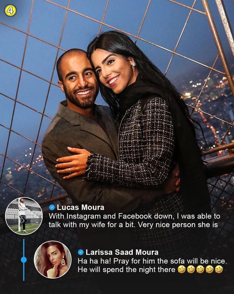 O Μόουρα και άλλοι παίκτες είναι... κολλημένοι με τα social media!