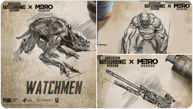 Pubg Mobile Metro Royal New Enemy and Weapons Revealed