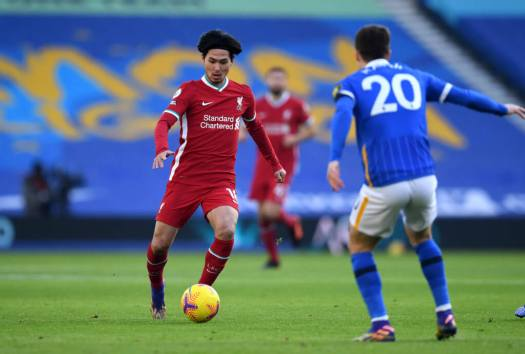 Liverpool fans react to Takumi Minamino display vs ...
