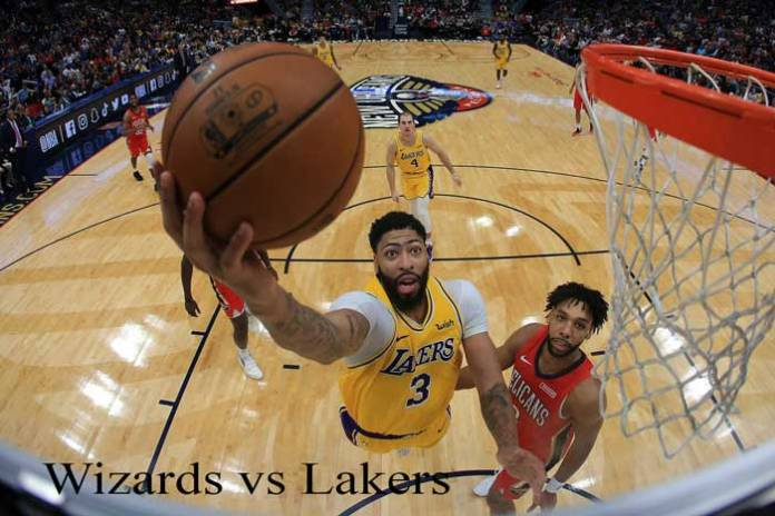 Wizards vs Lakers
