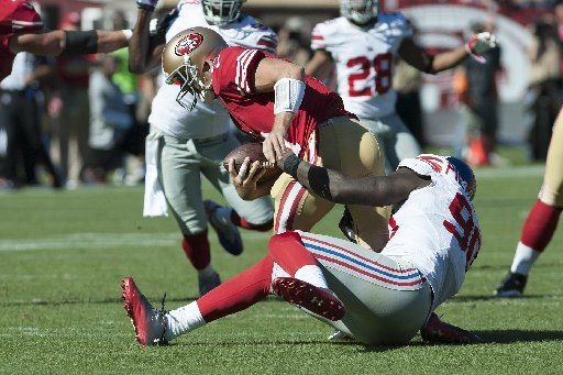 49ers vs Giants Semana 6