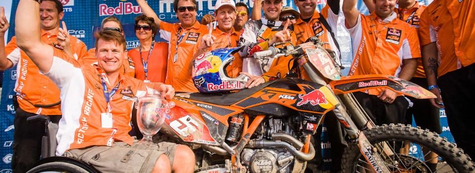 Ryan Dungey gana el 1r título para KTM en la categoría máxima de USA