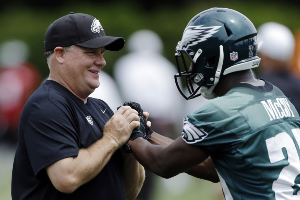 Chip Kelly Lesean McCoy