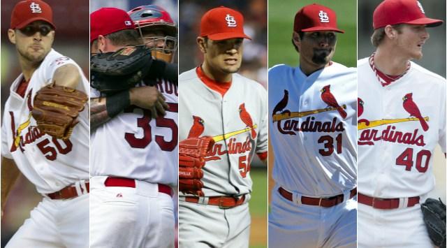 Rotacion Cardinals 2014