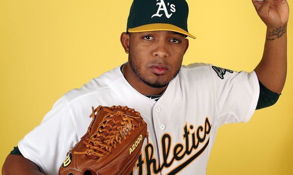 Fernando+Abad+Oakland+Athletics