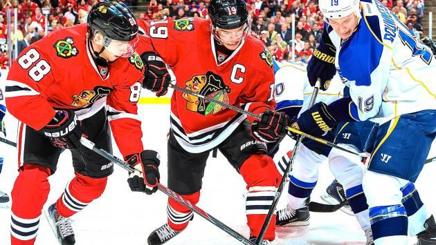 Blackhawks vs Blues
