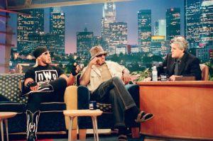 Hogan y Rodman con Jay Leno