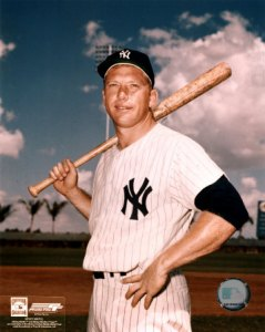 Mickey Mantle, superando al maestro