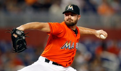 Mike Dunn, jugador de Miami Marlins