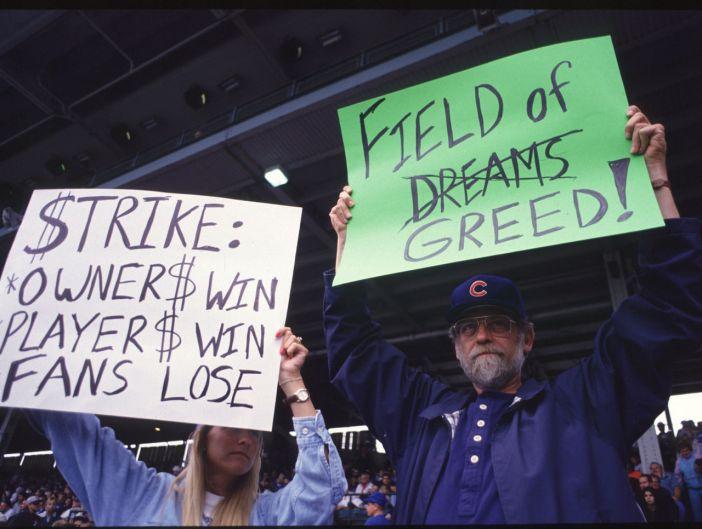 Resultado de imagen para huelga mlb 1994