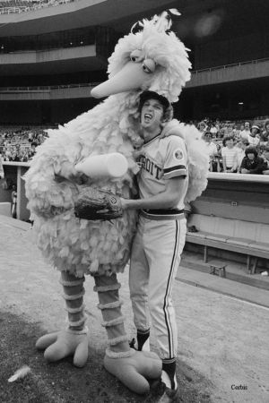 Mark Fidrych y Big Bird
