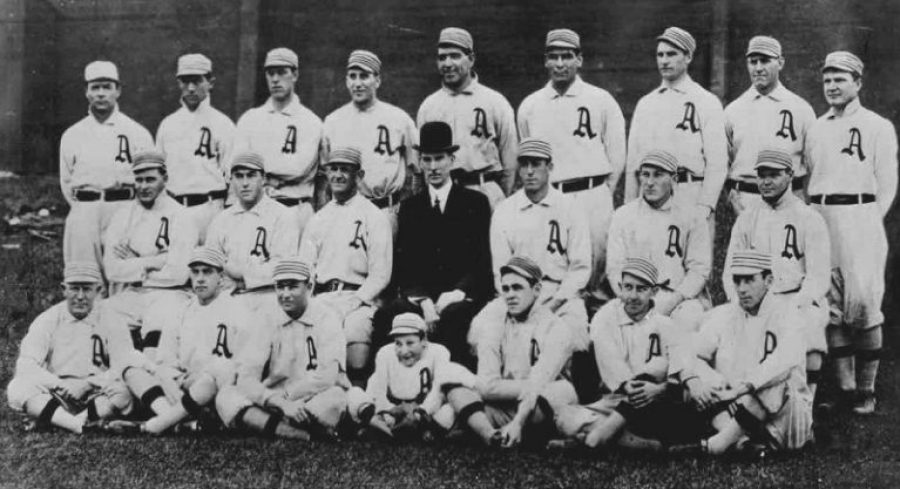 Los Philadelphia Athletics de 1911