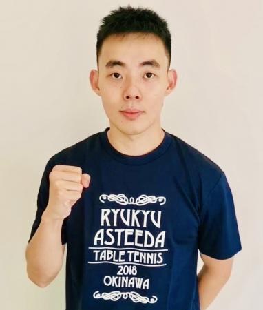 琉球アスティーダ『ノジマTリーグ2019-2020シーズン』に、『陳 建安』の参戦が決定。今シーズンも台湾三銃士集結!