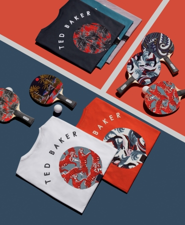 Ted Baker X Art of Ping Pongの限定コレクションがローンチ
