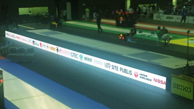 LED演出にも注目の「SITE PUBLIS Presents アジアフェンシング選手権大会2019」が開幕!