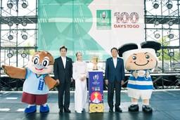 ラグビーワールドカップ2019開幕100日前キックオフイベント