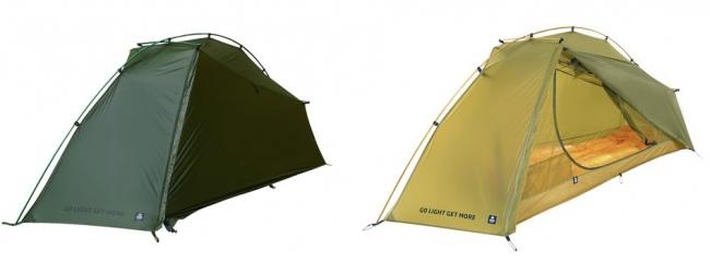 ライトバックパッカー向けアウトドアブランド ZEROGRAM、1kg未満でダブルウオール のULソロテント「Thru Hiker 1p」 新発売
