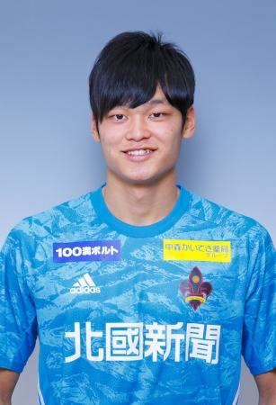 【U-18】上田樹選手 U-18日本代表候補 福島トレーニングキャンプメンバー選出のお知らせ