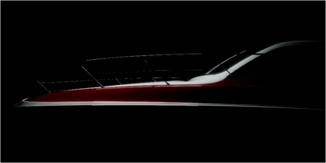 第36回アメリカズカップの大会公式VIP艇となる高性能クルーザー「X47 Express Cruiser」のイメージ先行公開