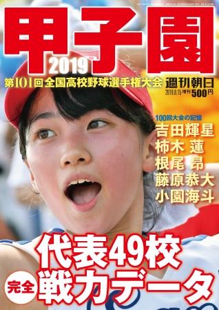 甲子園 全代表校の完全データを収録『甲子園2019』発売!吉田輝星、根尾昂らの独占インタビューも
