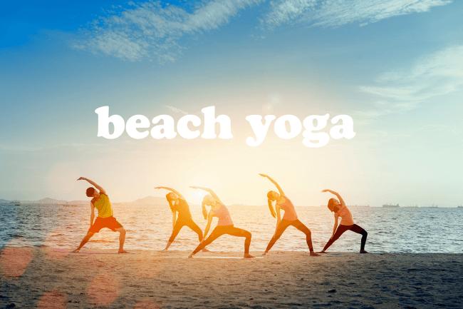 自然の中で心を解放。朝日を浴びてリフレッシュ!鎌倉の潮風を感ながら非日常を味わえる、どなたでも参加可能な無料の「ビーチヨガ」。2019年8月17日にリベンジ開催!