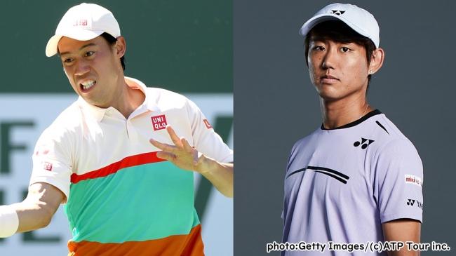 ツアー最高峰の舞台で夢の日本人対決!ATPシンシナティ大会2回戦「錦織圭 vs 西岡良仁」ほかを生中継!